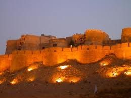 Jaisalmer, India  A walled city - inside of this fortress!