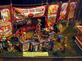 Freaks  Side Show Model Exhibit