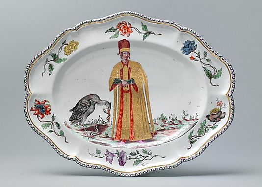 Platter One Of A Set Ca 1745 Doccia Manufactory Florence