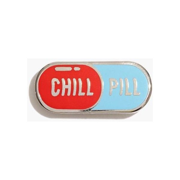 Madewell Pintrill Emoji Pin 12 Liked On Polyvore Featuring Chill Pill Emoji Pin Pintrill Madewell