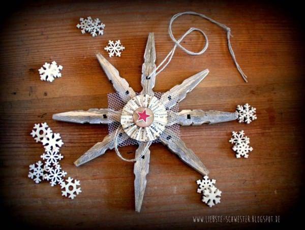 diy weihnachtsstern recycling basteln weihnachten weihnachten und basteln. Black Bedroom Furniture Sets. Home Design Ideas