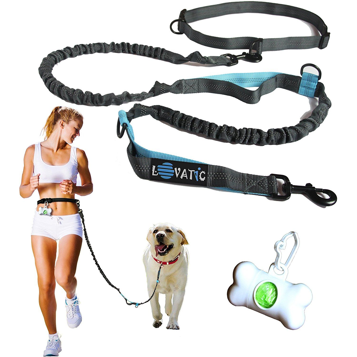 Premium Hands Free Dogs Leashes Retractable Leash For Dogs