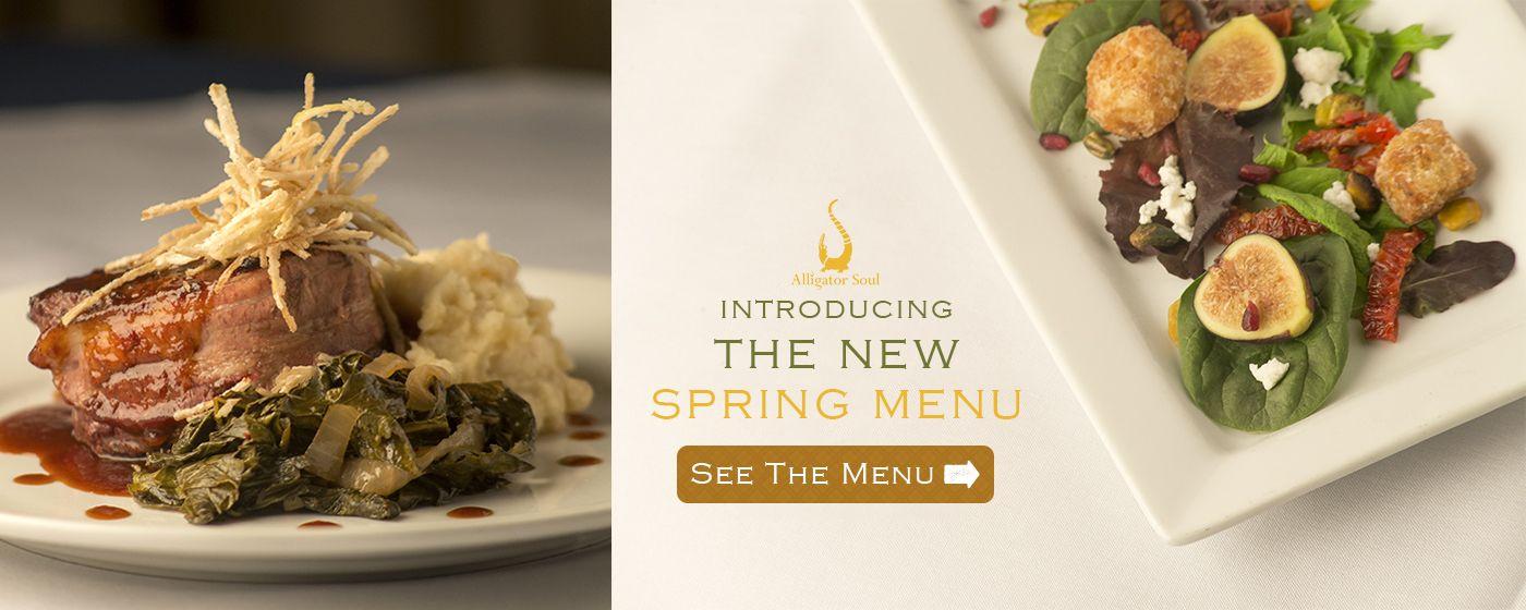 Alligator soul savannah restaurants new summer menu