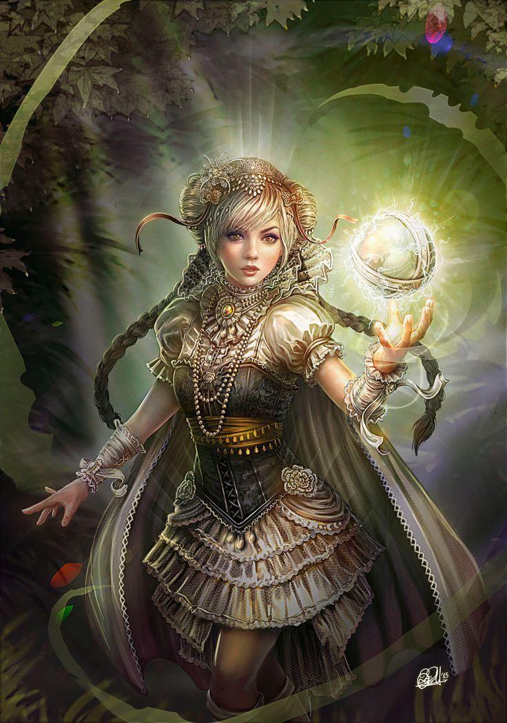 Картинки волшебницы девушки