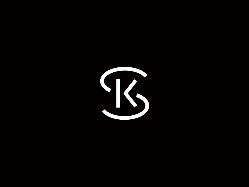 Sk Sk Logo Typographic Logo Design Logo Design