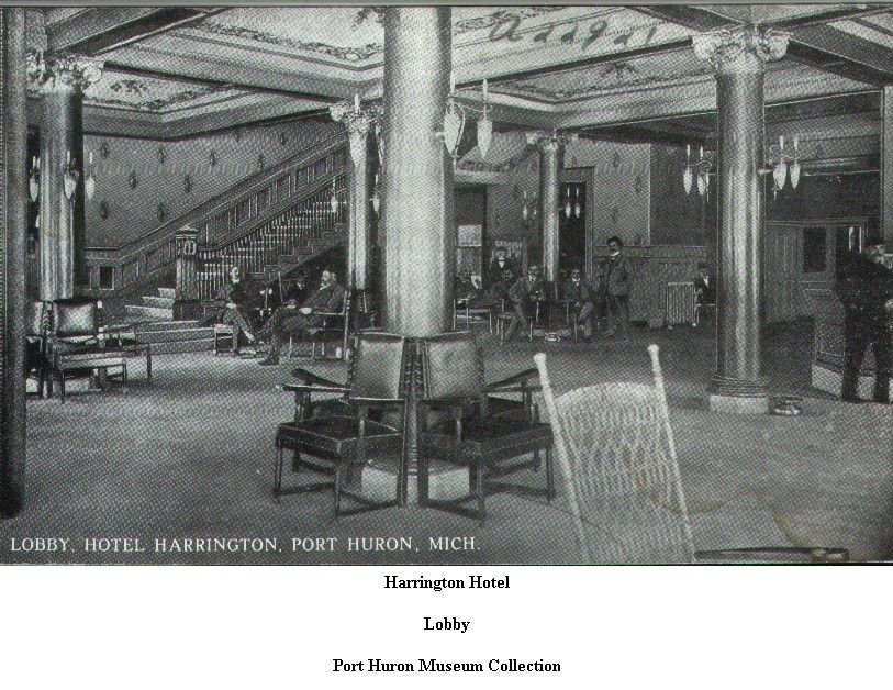 Harrington Hotel Port Huron Michigan