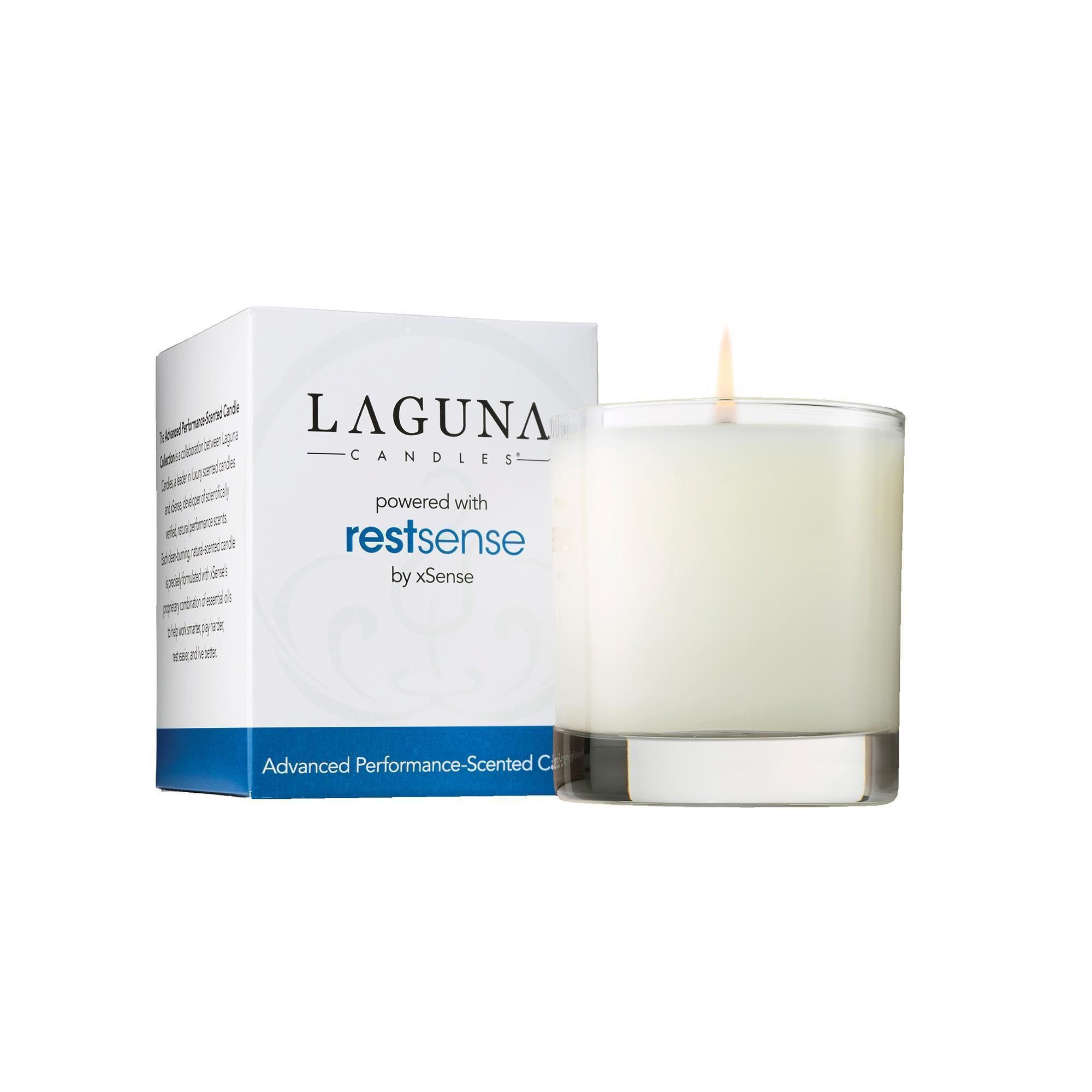 Laguna Candles Rest-Sense Performance Scented Candle ...