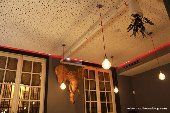 interior restaurante amasia, olavide, madrid. c/ cASTILLO Nº 16