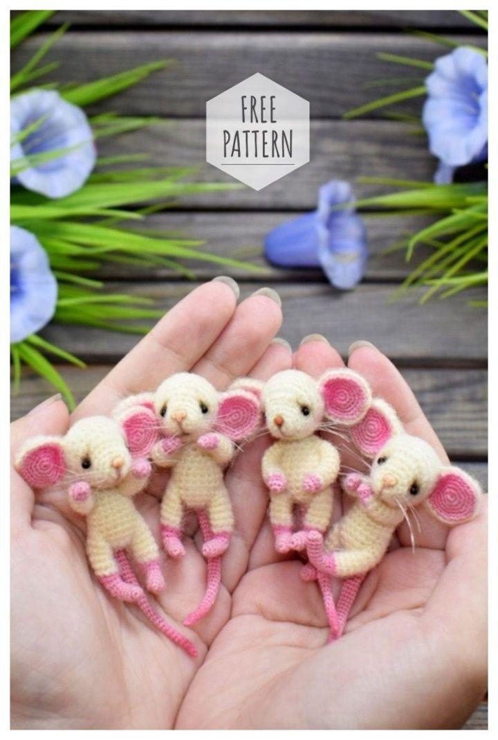 Amigurumi Baby Rats #haken