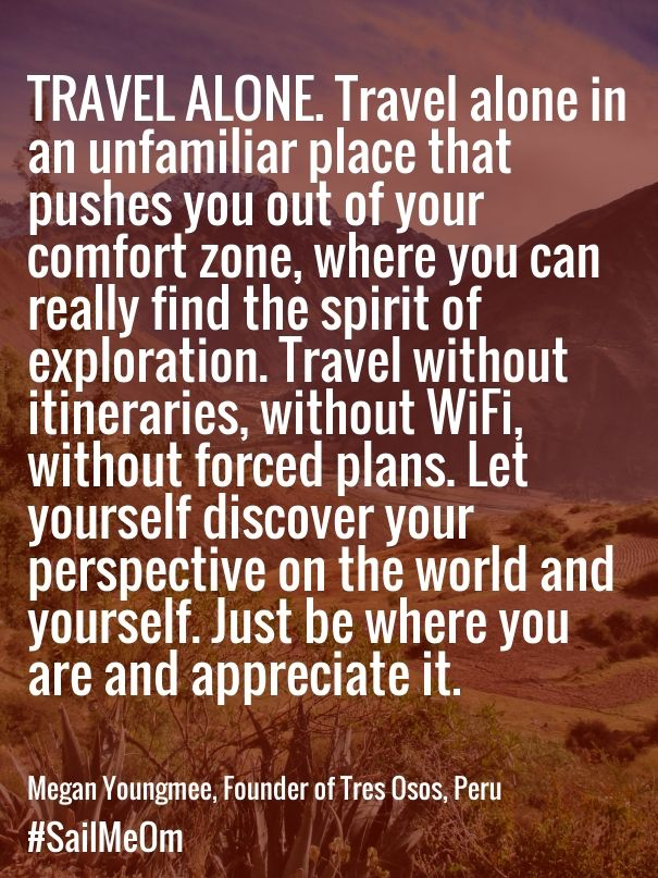 Travel Alone Quotes Captivating How Traveling Solo Helped This Woman Find Love And A Beautiful