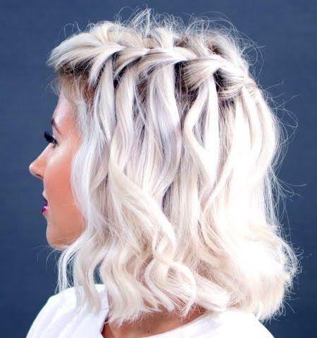 5 Ideen Fur Wasserfall Zopfe Um Zu Versuchen Im Sommer 2017 Frisur Ideen Geflochtene Frisuren Geflochtene Frisuren Fur Kurze Haare