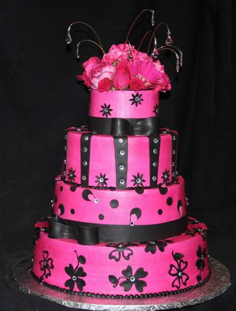 It\'s All About The Pink – Pink Wedding Cakes That Is | if I were a ...