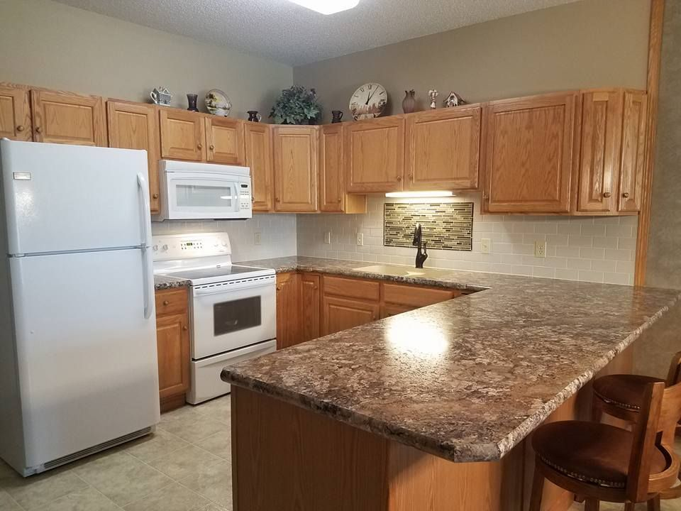 Winter Carnival Laminate Countertops Kitchen Cabinets In