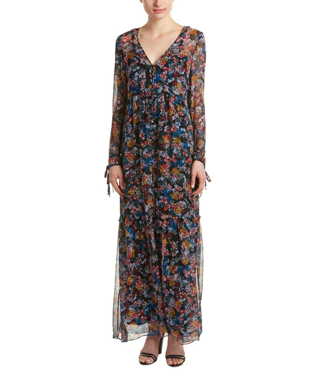 ELLA MOSS Ella Moss Floral Silk Maxi Dress'. #ellamoss #cloth ...