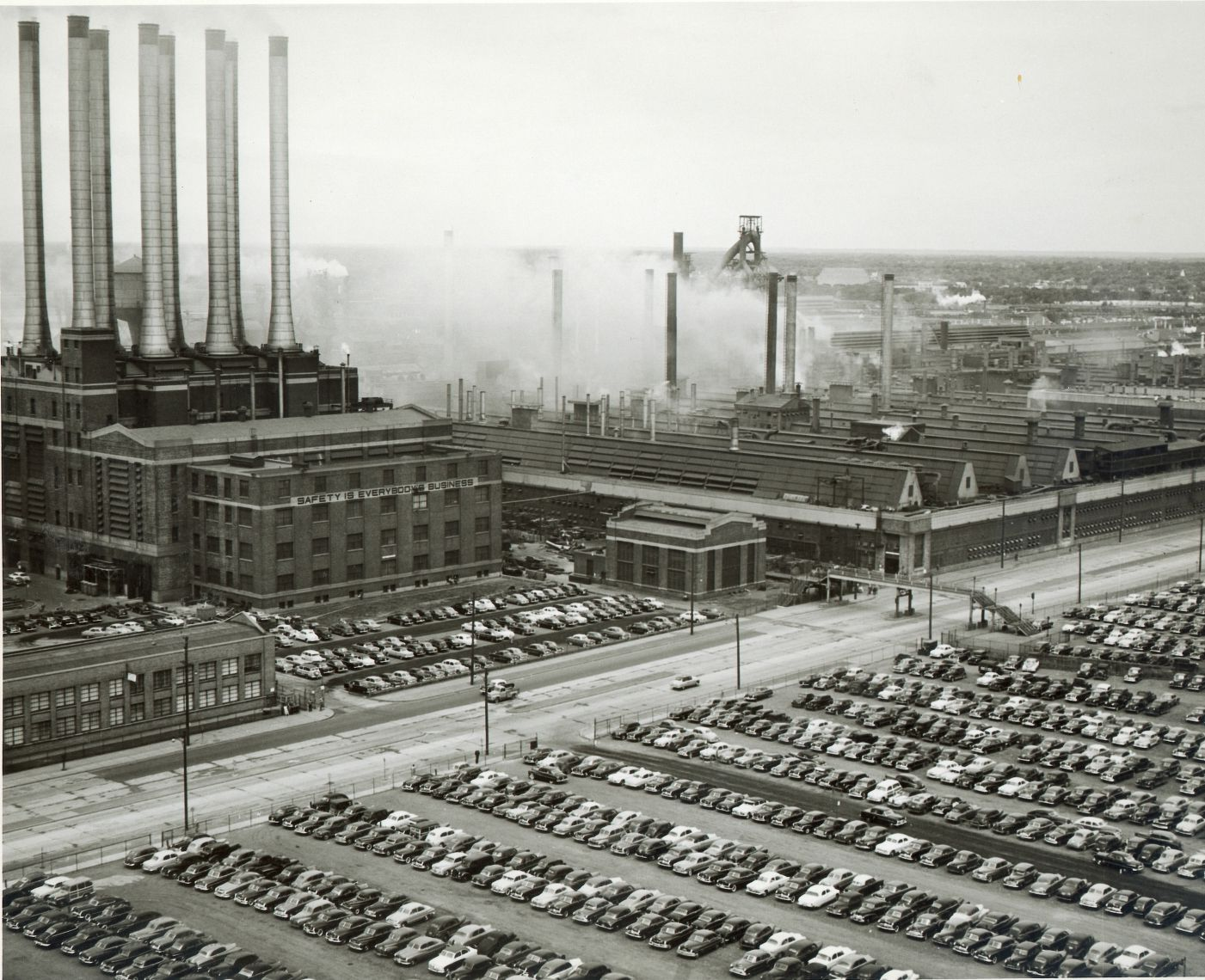 This Is An Image Of The First Ford Factory The Monsters Inc Facility Is Structured Similarly To This Factory Comp Motor City Vintage Michigan Detroit History