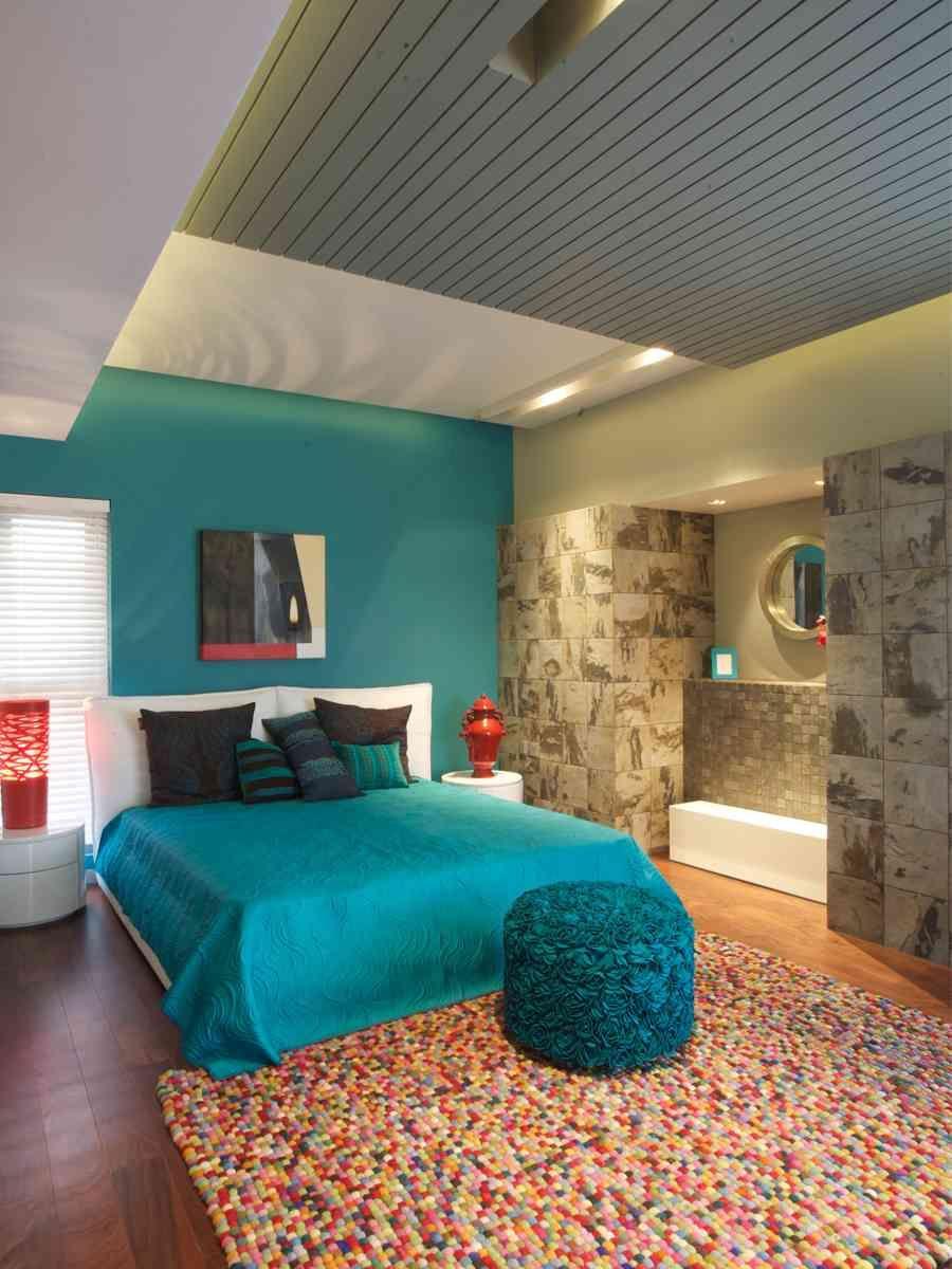 Turquoise Bedroom Design By Moriq Interiors Modern Bedroom Design Bedroom Design Bedroom Interior Turquoise floor bedroom designs