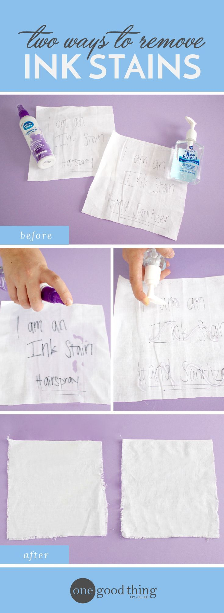 Surprisingly, This Is The Best Way To Remove An Ink Stain