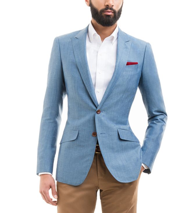 Black Lapel Recommends The Wool-Linen Blazer | Linen blazer ...