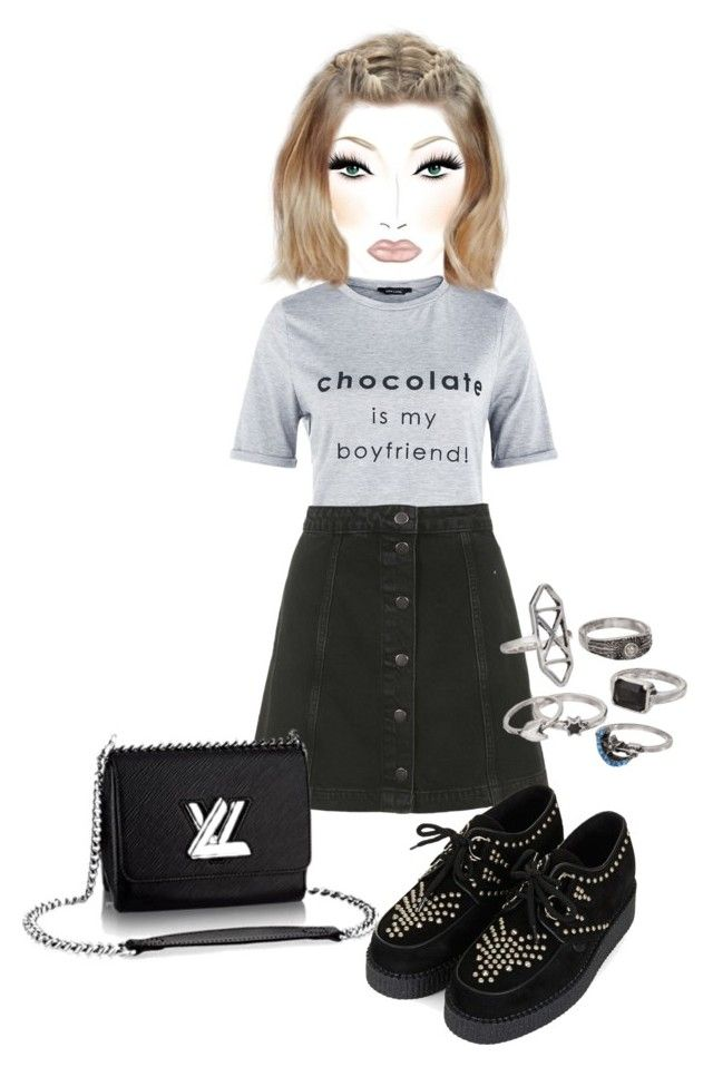 """Untitled #4120"" by cristalabron ❤ liked on Polyvore featuring мода, Topshop, Underground и Mudd"