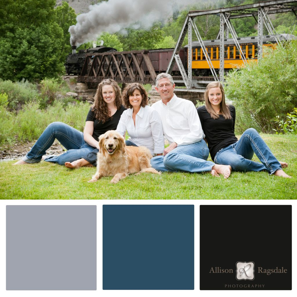 Blue and Black Family Portrait Color Palettes, Interior Design ...
