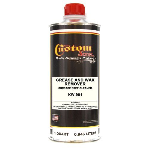 Kustom Shop Kw901qt Grease And Wax Remover Surface Prep Cleaner