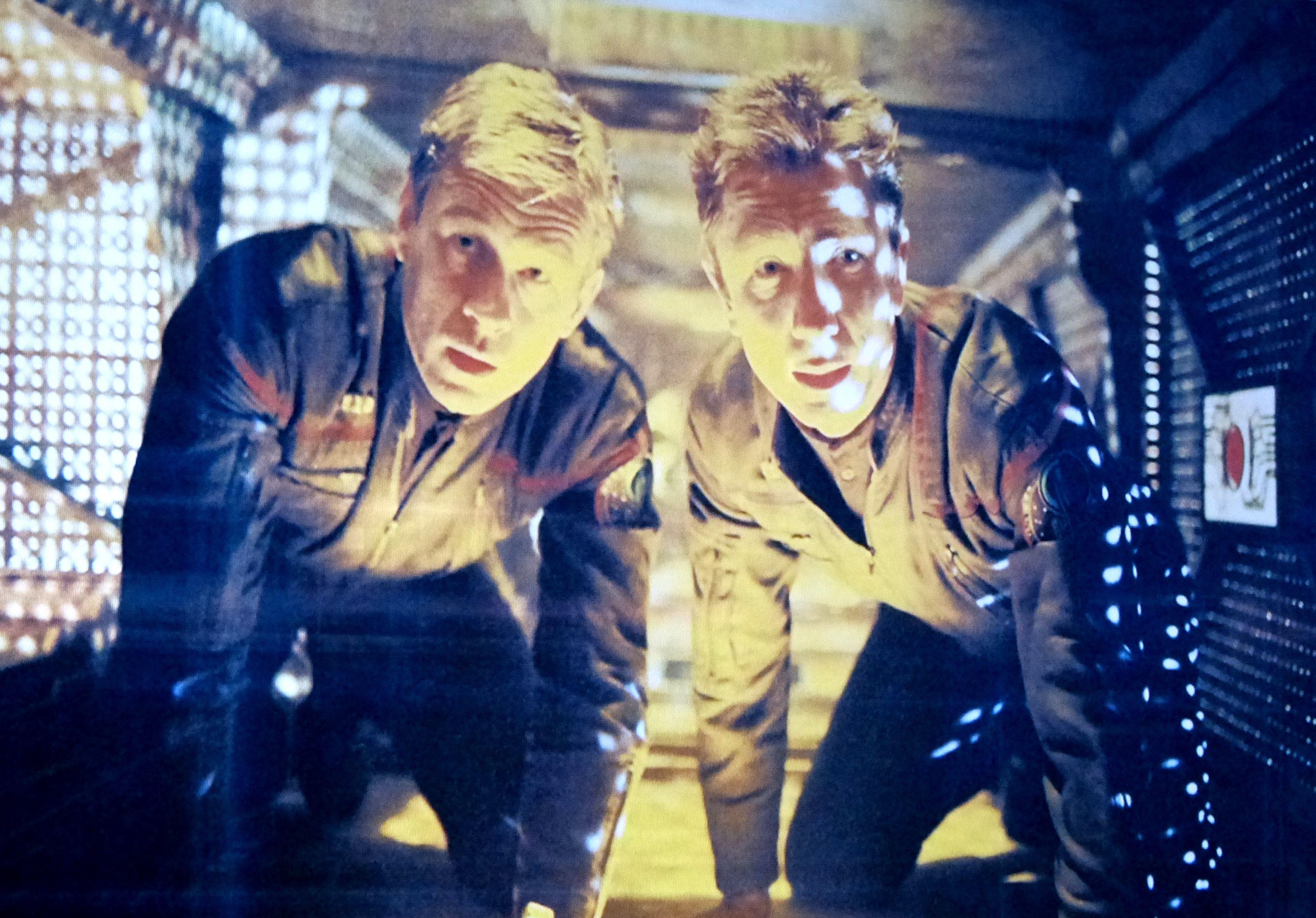 """Star Trek Enterprise Charles """"Trip"""" Tucker III & Malcolm Reed"""