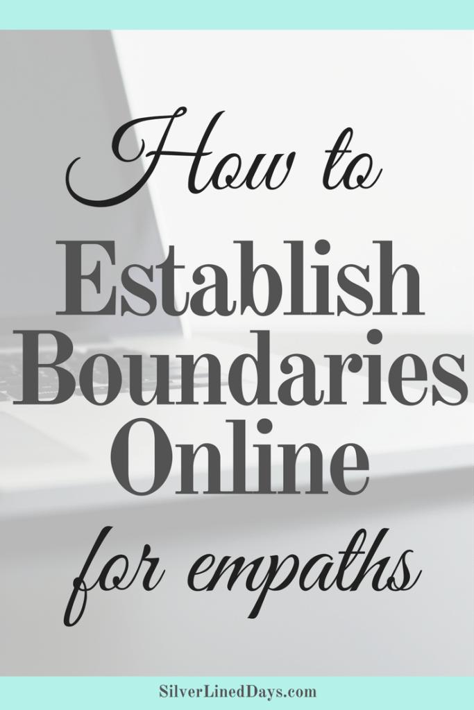 3 Ways to Set Boundaries Online for Empaths | INFJ