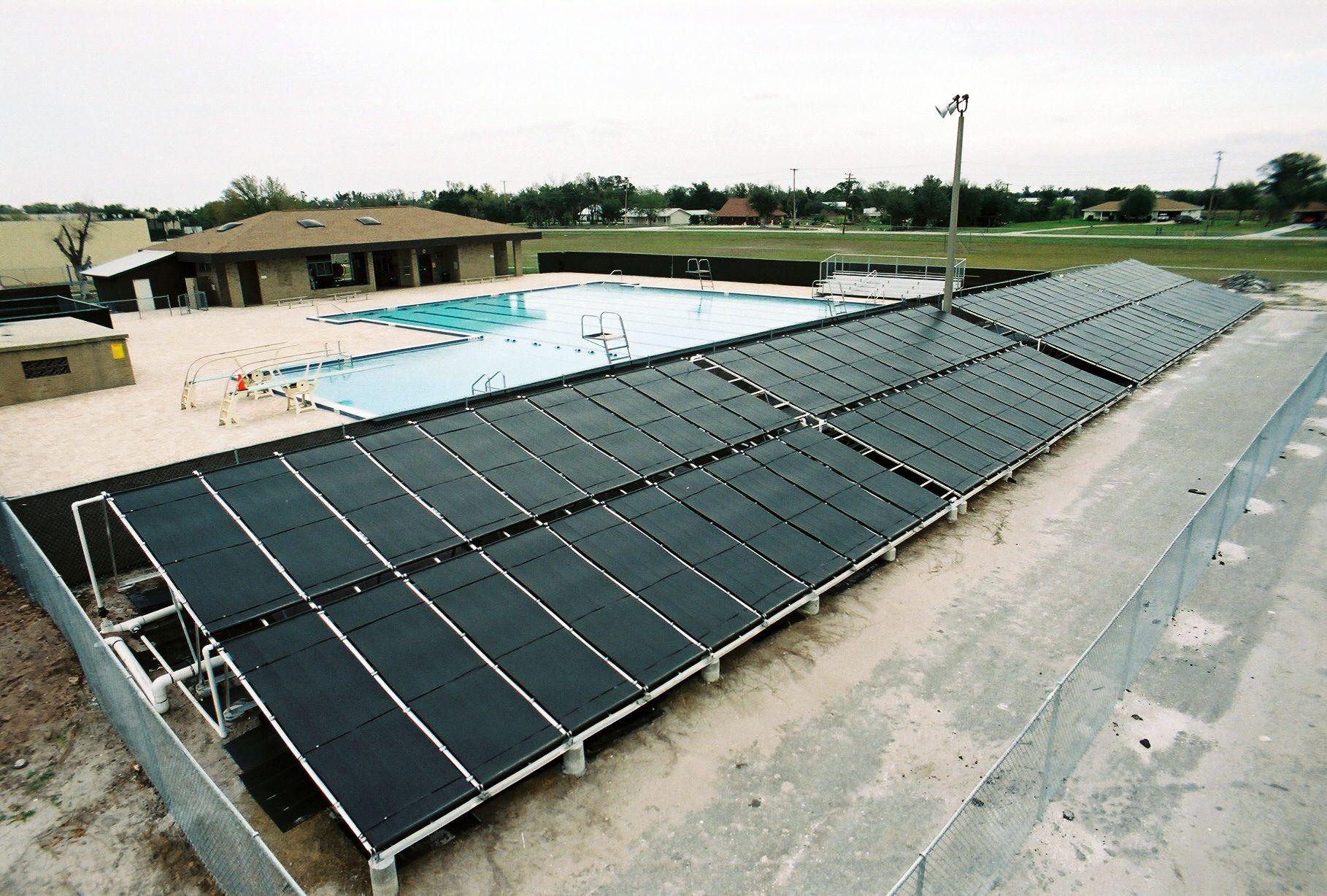Vortex Solar Pool Heater Commercial Solar Pool Heater 80 Vortex 4 X 12 Solar Pool Panels Www Diysolarpoo Solar Pool Solar Pool Heater Pool Solar Panels