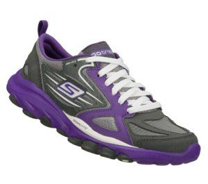 Women's Skechers Skechers GOtrain - PurpleGray