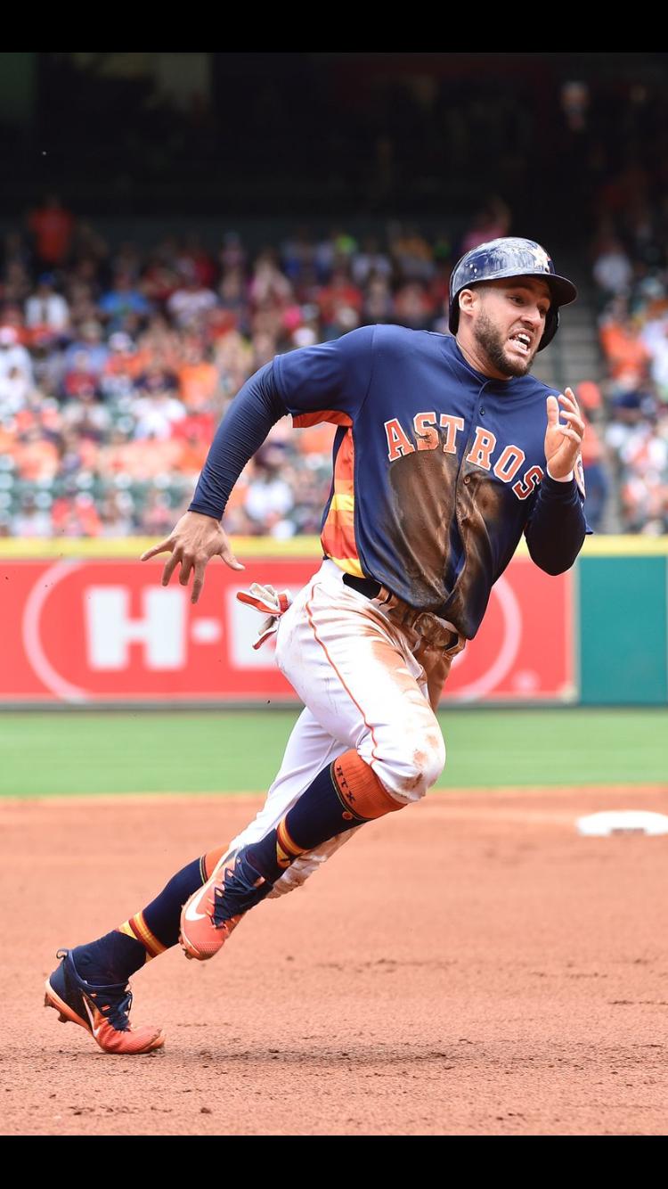 George Springer Astros Baseball Houston Astros Baseball George Springer