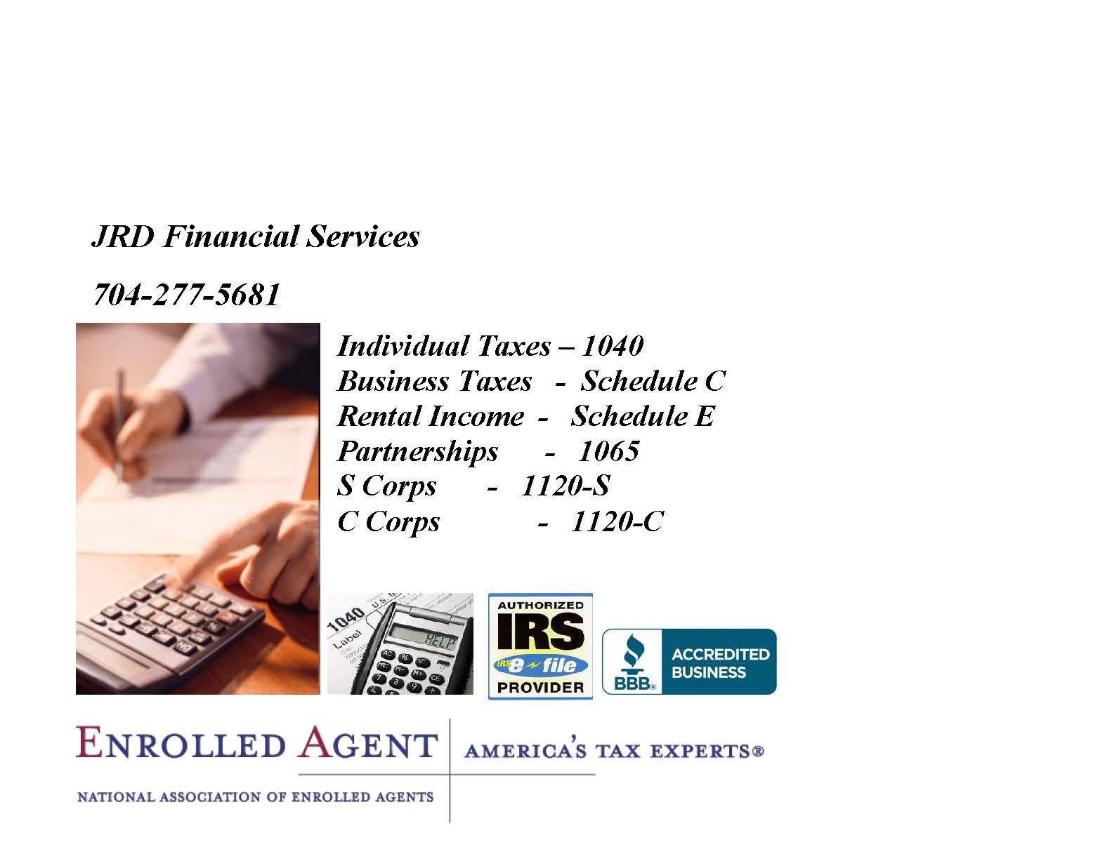 JRD Financial Services (2013 logoad (2) Business tax