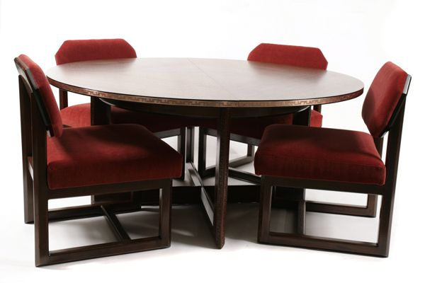 Frank Lloyd Wright For Heritage Henredon Table & Chairs  Retro Prepossessing Henredon Dining Room Sets Inspiration Design