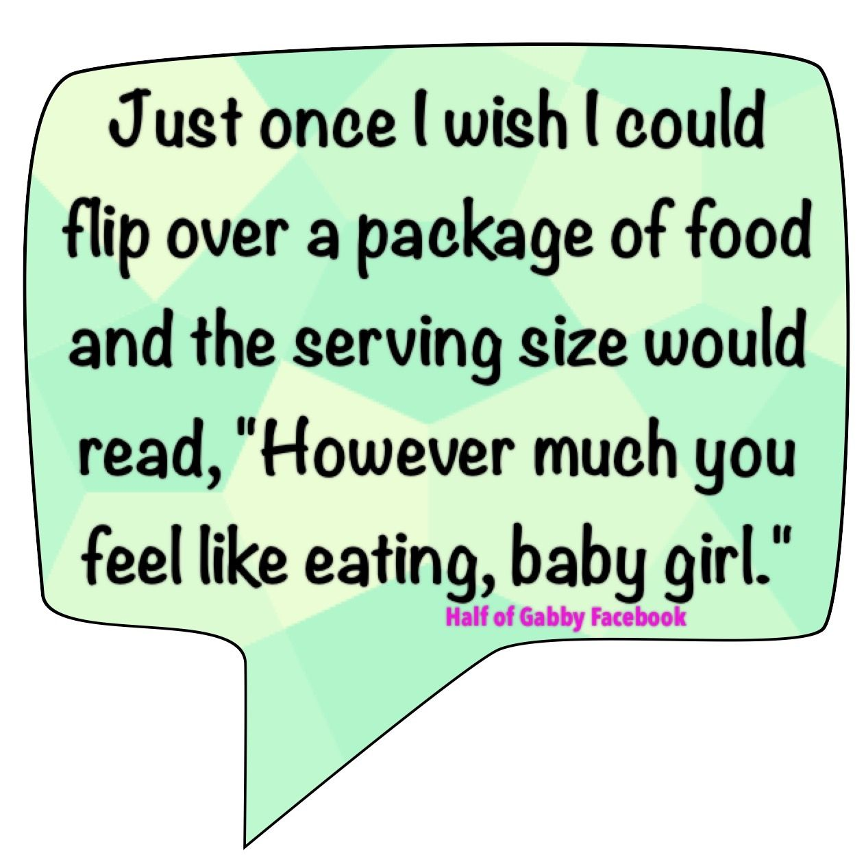 A girl can dream. | Funny diet quotes, Make me laugh
