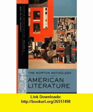 The norton anthology of american literature shorter seventh the norton anthology of american literature shorter seventh edition vol 2 fandeluxe Images