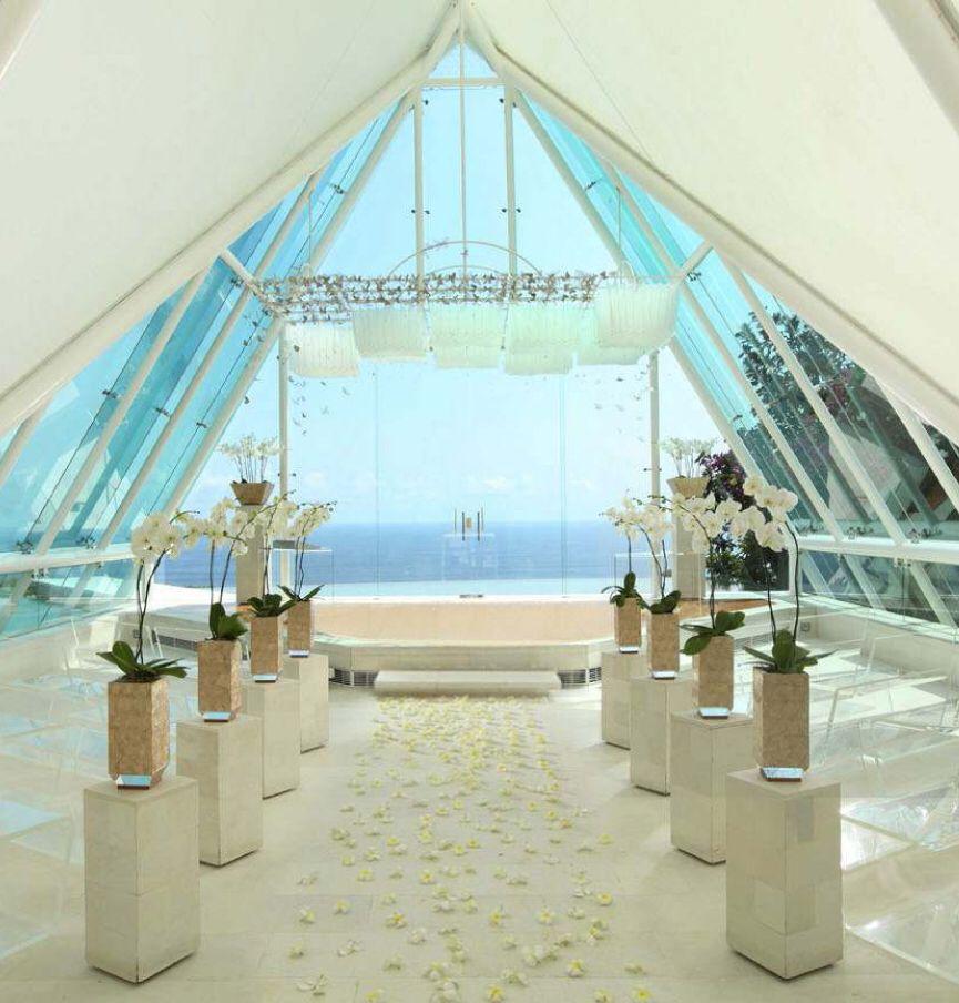 Wedding Chapel Decoration Ideas: Our Ocean View Chapel, Uluwatu, Bali. Tirtha Bridal