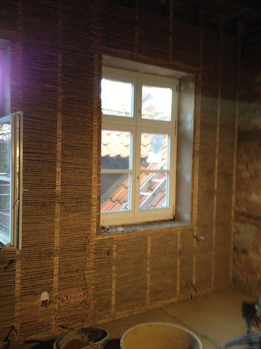 Fesselnde Sitzfensterbank Ideen Von Lehmbau: Stellen Eines Holzrahmen Zur Aufnahme Der