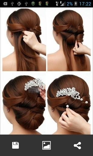 Simple Step By Step Hairstyles To Do Yourself Google Search Hair