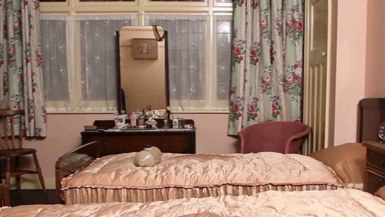 The 1940s House: The Master Bedroom | this video also ...