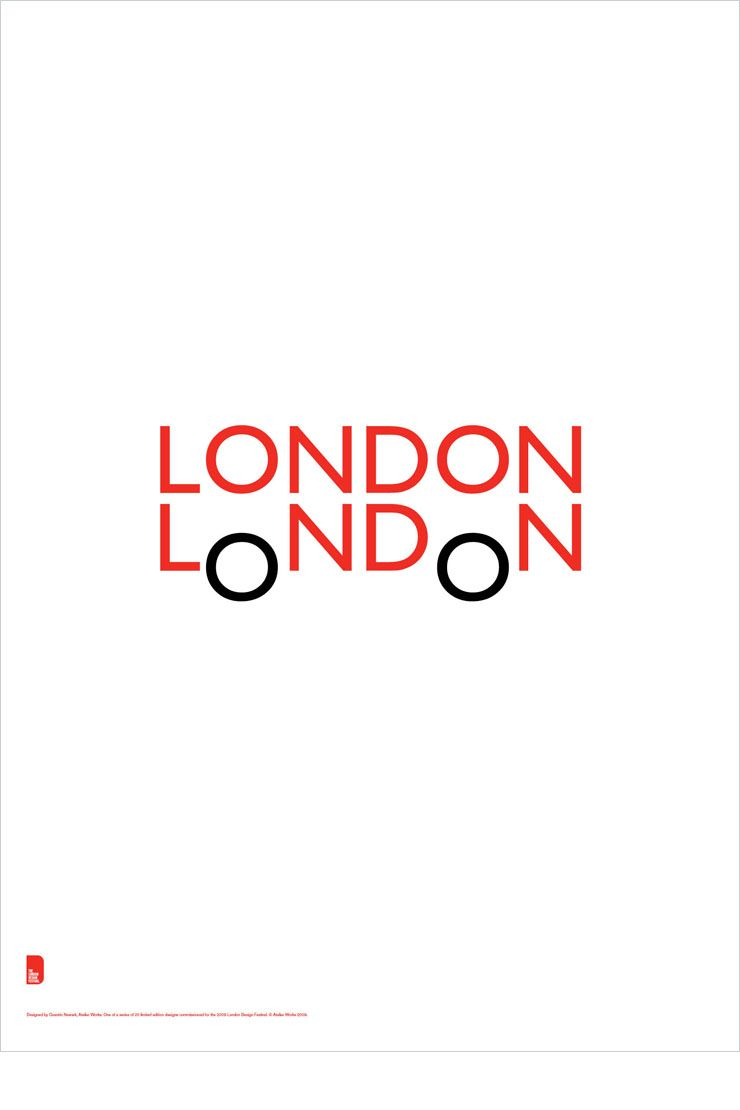 Poster design london - Blanka The London Poster Very Simple And Clever