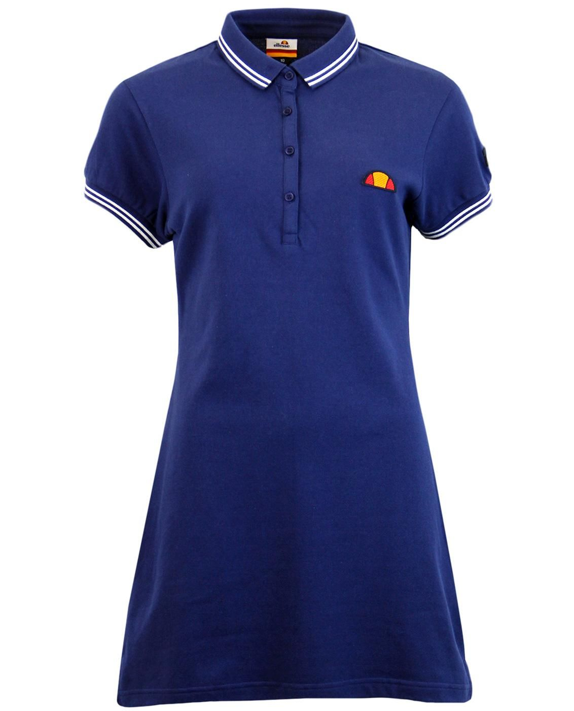 ea12c65de7243a Brand  Ellesse Womens. Key Points  Ellesse Womens Retro 80s pique polo dress  with contrast tipping