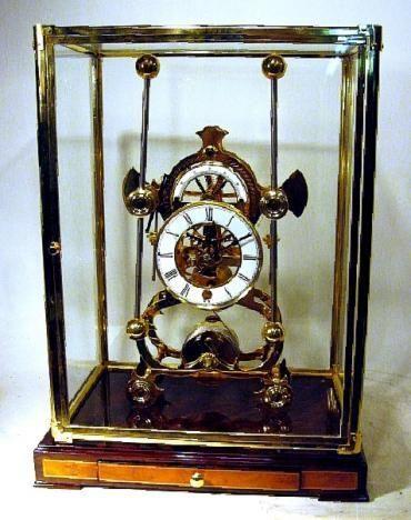 Picture Of Harrison Grasshopper Clock Clock Carriage Clocks Mantel Clock