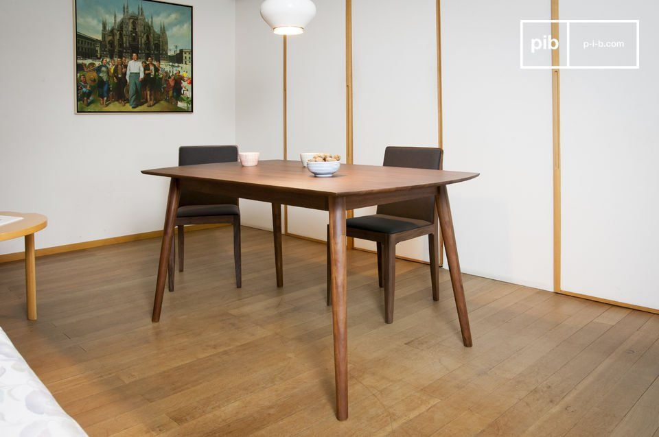 With Its Elegant Feet And Dark Wooden Colour, The Chinatown Dining Table  Recalls Scandinavian Design Of The Mid Twentieth Century.