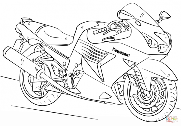 Motorcycle Coloring Book Coloring Pages Coloring Books Pokemon Coloring Pages