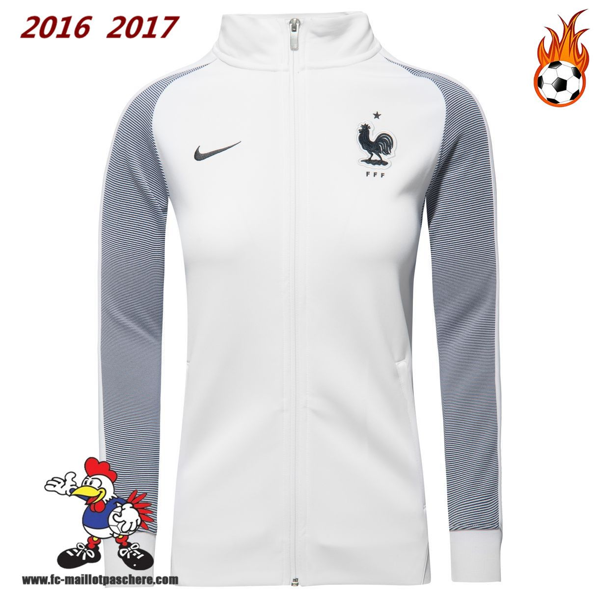 Veste Nike Homme PSG Noir Tops 2017 2018 Replica Pas Cher