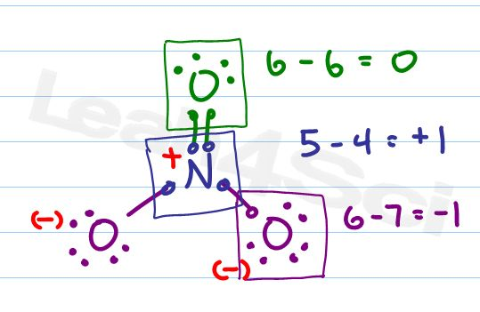 no3- formal charge and lewis structure