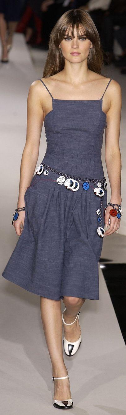 Que bonito vestido es e chanel   Denim   Pinterest   Chanel, Bonito ...