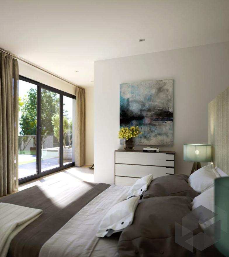 Schlafzimmer Inspiration Aus Einem Haus Von Bien Zenker ➤ Auf Der ___  Fertighaus.de