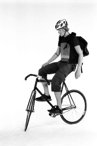 San Francisco Bike Messenger By Beryl Fine Via Behance Bike