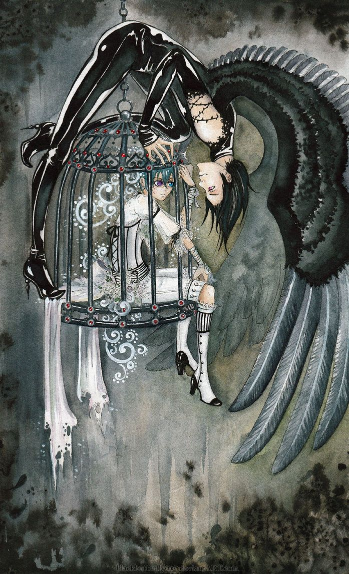 The Dark Crow Smiles by Si3art on deviantART (pinning for the stripper boots)