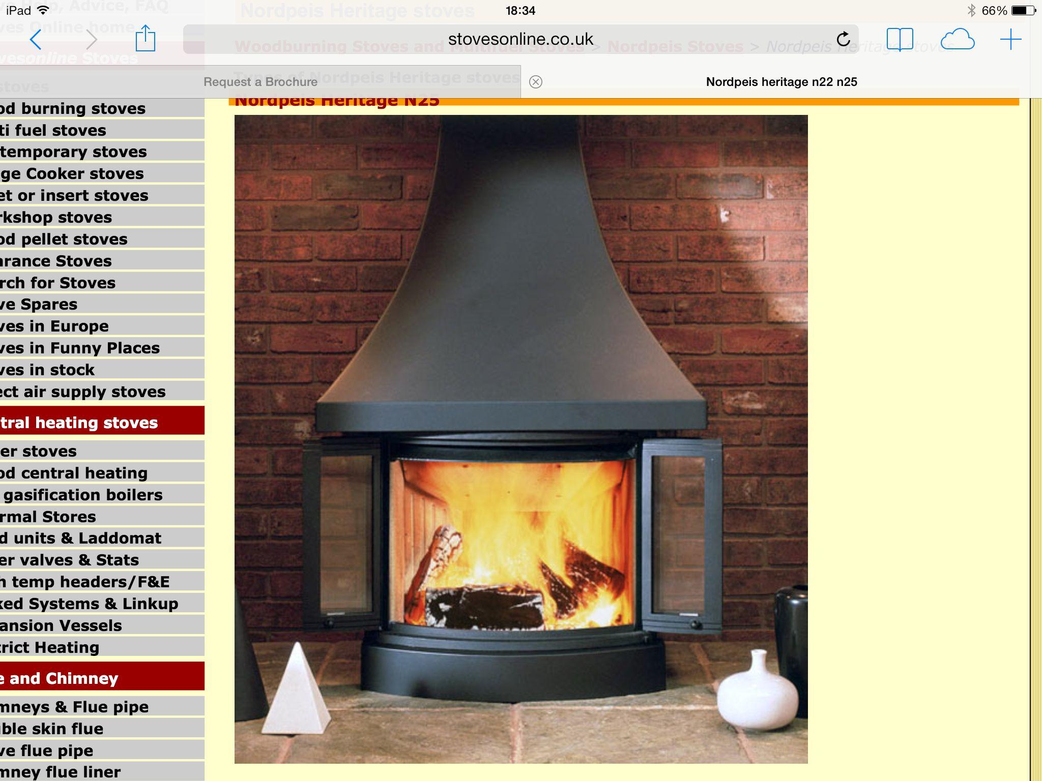 Nordpeis heritage n inglenook fireplace pinterest stove